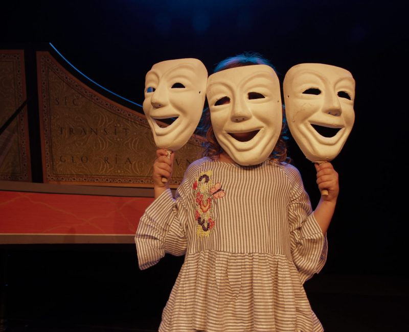 Mara máscara triple